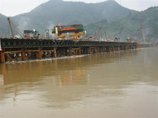 Bailey Bridge For Zhejiang