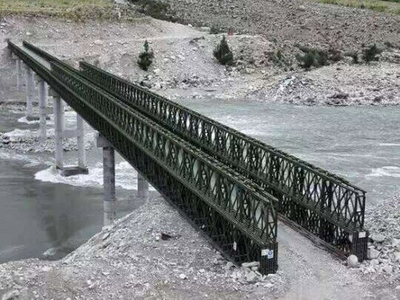 Bailey Bridge For Tibet