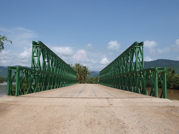 Bailey Bridge For Cambodia